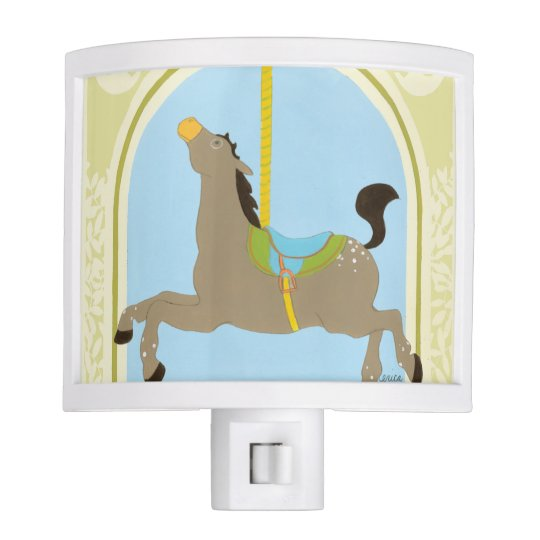 Carousel Horse by June Erica Vess Nite Lite