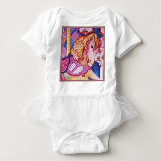 Carousel Horse Clothing Baby Bodysuit