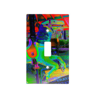 [Carousel Horse] Colorful Light Switch Cover