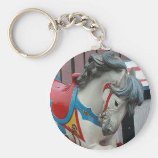 Carousel Horse Keychain