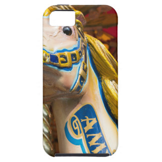 Carousel horse on merry goround iPhone 5 cover