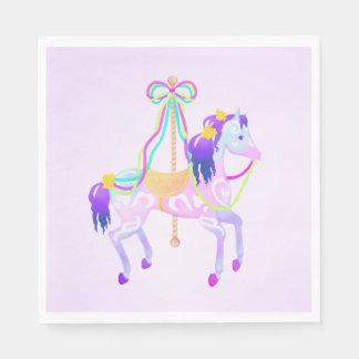 Carousel Horse party napkins