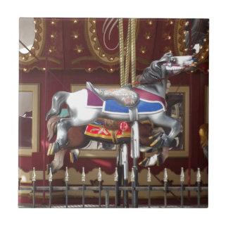 Carousel Horse Tile