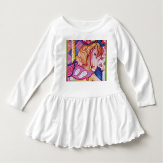 Carousel Horse Toddler Dress