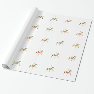 Carousel Horse Wrapping Paper