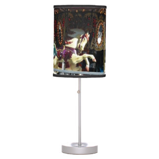 Carousel Horses Desk Lamp