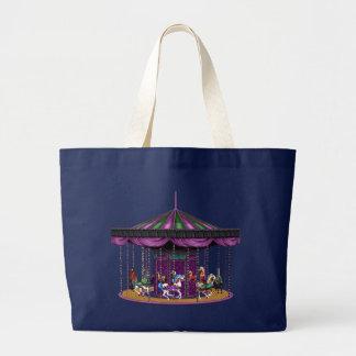 Carousel Large Tote Bag