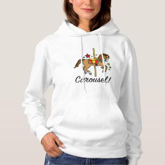 Carousel Pony with Stars Hoodie