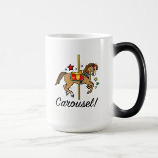 Carousel Pony with Stars Magic Mug