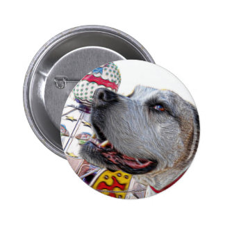 Carousel Ride 2 Inch Round Button