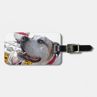 Carousel Ride Luggage Tag