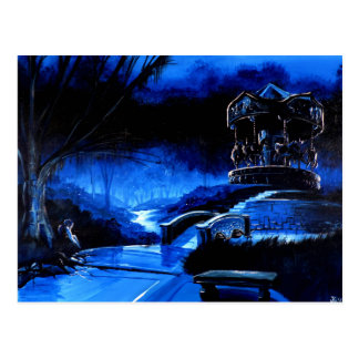 Carousel - Solace Park Postcard