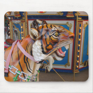 Carousel Tiger Mouse Pad