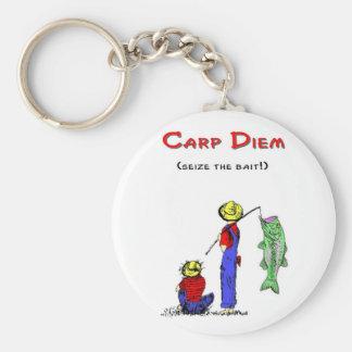 Carp Diem 2 Keychain