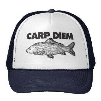 Carp Diem Trucker Hat