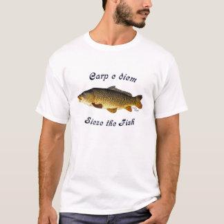 Carp e Diem  Sieze the Fish T-Shirt