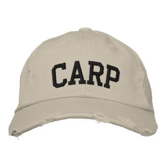 Carp Embroidered Hat
