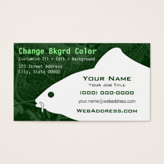 Carp Fish Business Card