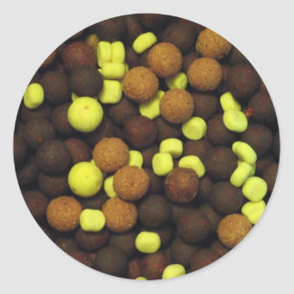Carp Fishing - Boilies 2 Classic Round Sticker