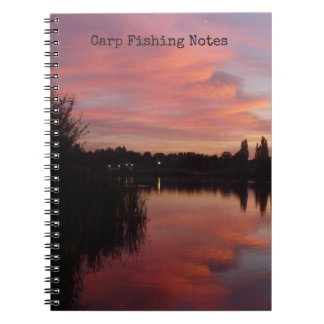 Carp Fishing Catch & Conditions logbook Spiral Notebook