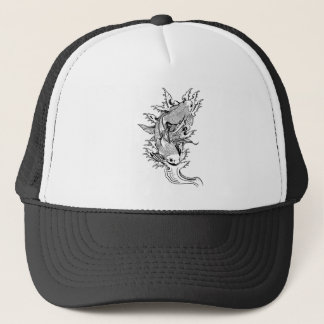 Carpa Koi Trucker Hat