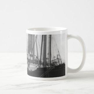 Carpathia in dock in New York 1912 Coffee Mug