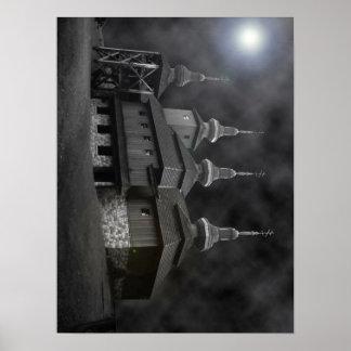 Carpathian Church Poster