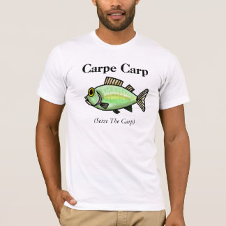"""Carpe Carp Fishing Sweater  """"Seize The Carp"""""""