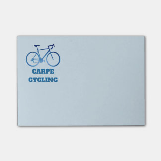 Carpe Cycling, Bicycle Cycling Post-It Notes
