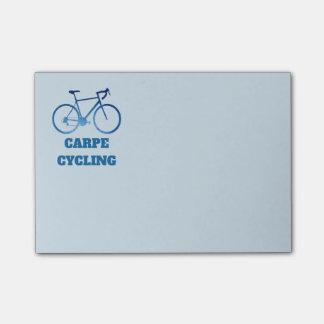 Carpe Cycling, Bicycle Cycling Post-It Notes