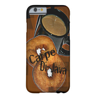 Carpe Di-Java Coffee & Donuts Fits All Styles/ Barely There iPhone 6 Case