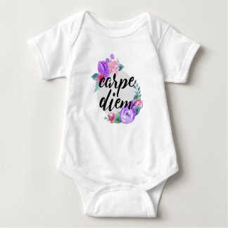 Carpe Diem 01 Baby Bodysuit