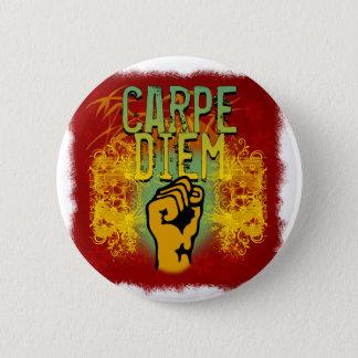 Carpe Diem 2 Inch Round Button
