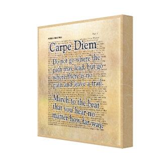 Carpe Diem and More --- Canvas Art Print