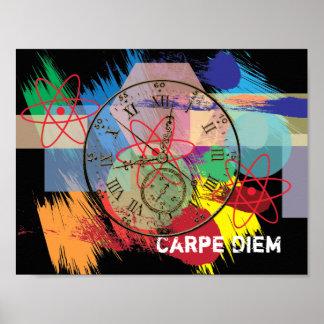 Carpe Diem -- art poster