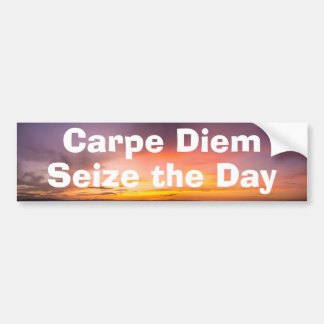 Carpe Diem Bumper Sticker