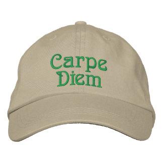 Carpe Diem Cap Embroidered Hat