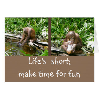 Carpe Diem Enjoy Life Card