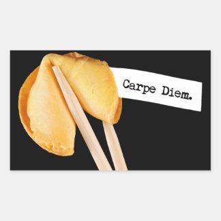 Carpe Diem Fortune Cookie Sticker