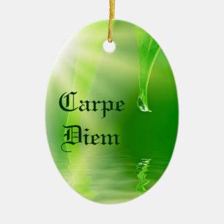 Carpe Diem Ornament