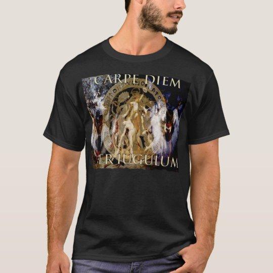 Carpe Diem Per Iugulum/Seize the day by the throat T-Shirt