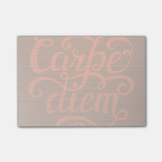 Carpe Diem' Post-it Notes