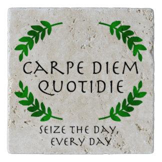 Carpe Diem Quotidie - Seize the day, every day Trivet