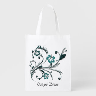Carpe Diem Reusable Grocery Bag