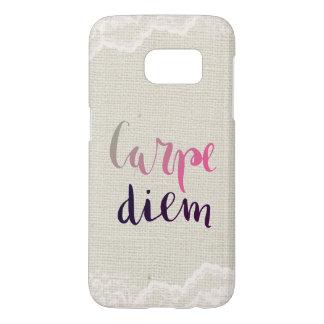 Carpe Diem Samsung Galaxy S7 Case