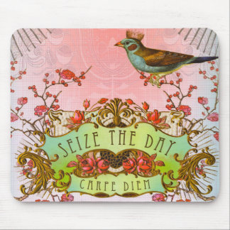 Carpe Diem Seize The Day Mouse pad