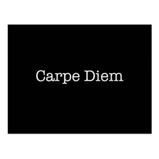 Carpe Diem Seize the Day Quote - Quotes Postcard