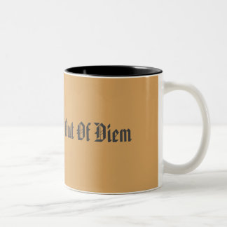 Carpe Diem Two-Tone Coffee Mug