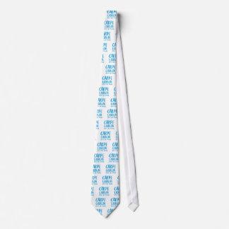 carpe librum (seize the book) tie