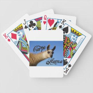 Carpe Llama Bicycle Playing Cards